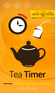 Tea Timer splash screen